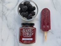 Popify collaborates with Rare Bird Preserves to create their Blackberry-Cherry pops. | Photo provided