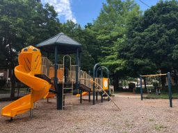 The Park District of Forest Park will lease the pocket parks from the village, and major renovations are possible with grant funding. This park at Thomas Avenue and Adams Street is on the list.