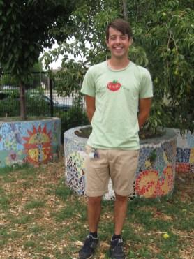 Green Youth Farm director Carson Poole.
