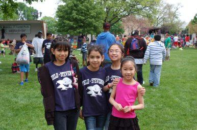 Left to right: Stephanie Zavala, Fatima Murillo, Malaya Pascual and Heranna Pascua.