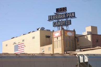 The Ferrara Candy Co. factory, Forest Park. (Photo: Michael Romain)
