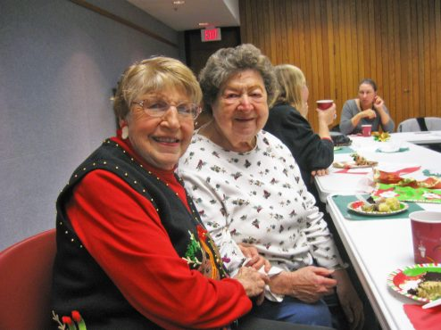 Shirley Christell, left, and May Bill. (JACKIE SCHULZ/Contributor)