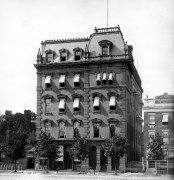 The Freedman's Savings Bank on Pennsylvania Avenue in Washington DC. (Courtesy Wikipedia)