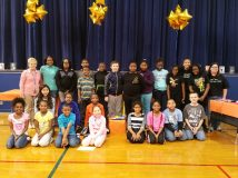 All students who participated in Battle of the Books 2015