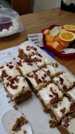 Pumpkin Bacon Bars. - Photo courtesy of Alicia Plomin