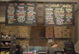 The list of sandwiches. | William Camargo/Staff Photographer