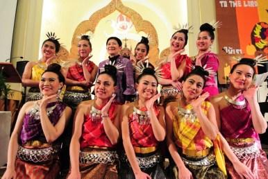 The congregation's young women perform a classical Thai dance. | Courtesy St. Paul Thai Lutheran Church