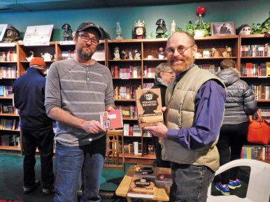 (Left) J. D. Kaplan with Bob Shiel. | JACKIE SCHULZ/Contributor
