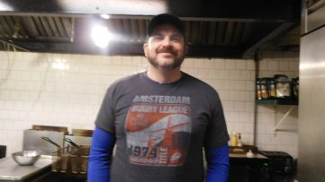Jonathan Veremis, the new cook at Doc Ryan's. | JACKIE SCHULZ/Contributor