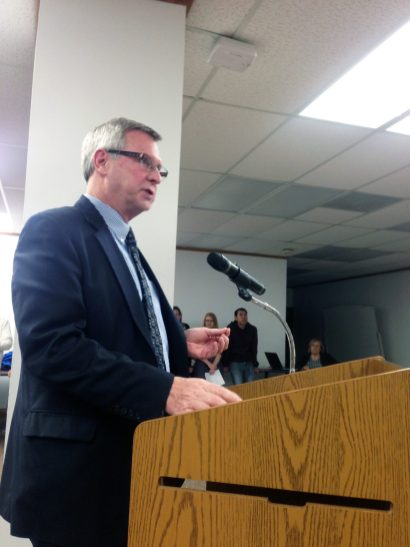 Burke Beverage Vice President Ken Donarski talks about video gaming. | Courtesy Matthew Hendrickson