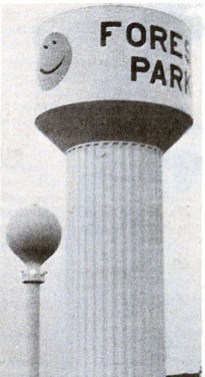 Happy tower is born in 1974 on the north side of town.