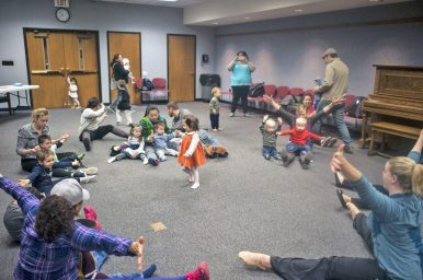 The Forest Park Library hosted a dance party event at the Forest Park Public Library on Friday, April 29.   William Camargo/Staff Photographer
