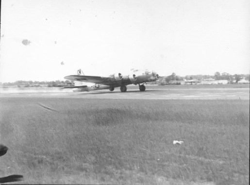 The B-17 that Leitch and his crew flew.   Courtesy of Tom Leitch