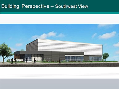 Architects presented their first take on the new park district facility. Park commissioners were enthused. | Courtesy Williams Architects / Aquatics