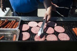 BBQ season has started at the Forest Park pool. | William Camargo/Staff Photographer