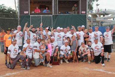 """Signature took first place in the 48th Annual Forest Park Invitational Softball Tournament (aka """"No Gloves"""") in July, defeating second place Hexx. 