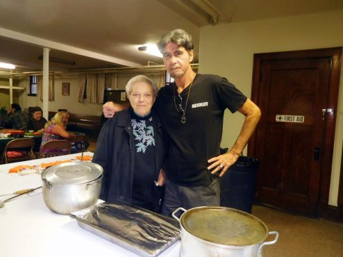 Rev. Dean Kucera at First United Church of Christ on Goulash Night. | JACKIE SCHULZ/Contributor