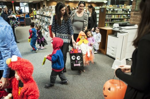 Children in costume paraded around in the always popular annual Halloween Parade at the Forest Park Public Library last week. | William Camargo/Staff Photographer