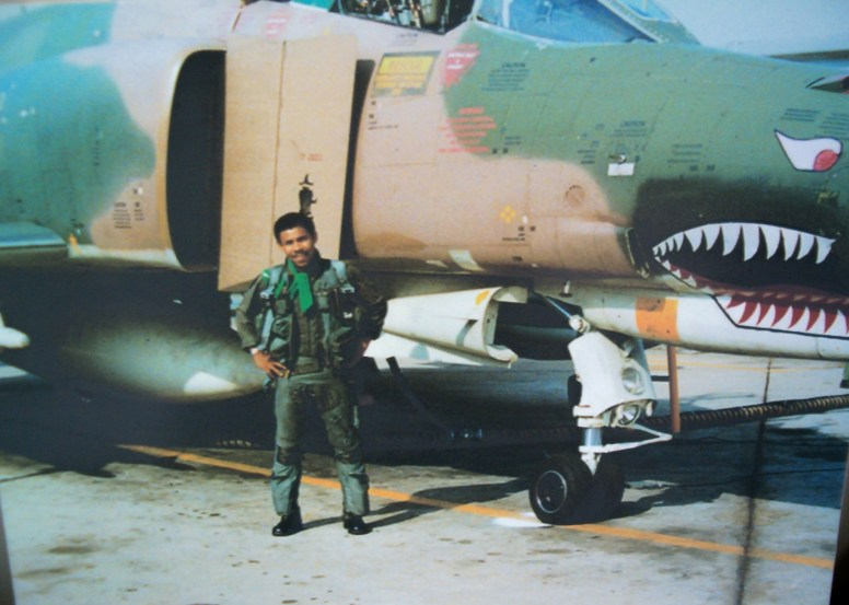 Bill Winston during his flying days in Vietnam. | Courtesy Living Word Center
