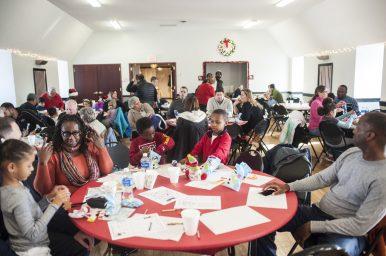 Children and adults take part in seasonal activities.   William Camargo/Staff Photographer