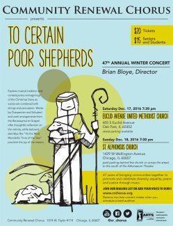 Community Renewal Christmas Concert
