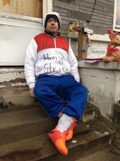 Xavier Murillo Guerrero began his hunger strike on Jan. 1.