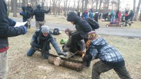 Boy Scout Troop 107 participated in the Chanonee & Thunderbird Klondike Derby at Cantigny Park in Wheaton recently. Scouts who participated: Peyton Brown Jonnathan Ford Ernesto Gasse Camillo Medina Gabriel Medina Finnur Shelton Miles Smith Henry Wagner Donovan Wasilevich Courtesy Jill Wagner