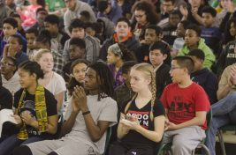 Students at Forest Park Middle School Celebrate Black History Month. | William Camargo/Staff Photographer