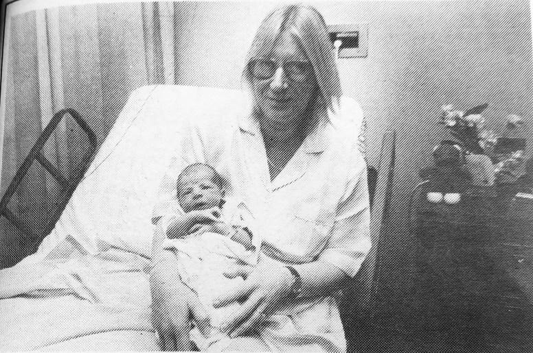 Linda Shrader and son, Steven Richard Shrader. | Courtesy Forest Park Historical Society