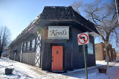The abandoned Kevil's bar to 7234 Circle Ave. | Alexa Rogals/Staff Photographer