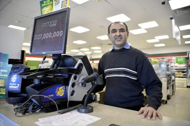 Owner Tapan Shah at the 7-Eleven on Roosevelt in Forest Park.   Alexa Rogals/Staff Photographer