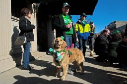 Residents, along with their pets, dress up for the parade. | Alexa Rogals/Staff Photographer