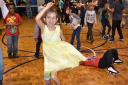 South PTO Spring Fling goers, dancing the night away. | Courtesy South PTO