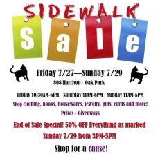 Animal Care League Sidewalk Sale