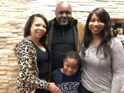 Diane Strickland (Grandmother), Eric Strickland (Grandfather), Anthony Strickland (Grandson), and Dilisha Wormely (Daughter-in-Law). | Submitted photo