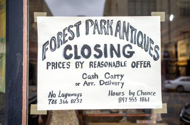 After Forest Park Antique's owner was diagnosed with cancer, the store's future became uncertain. | Alexa Rogals/Staff Photographer