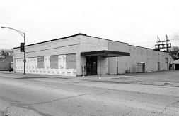 This photo from Forest Park Review archives, was taken in 1998. It is the future home of Famous Liquor Store.