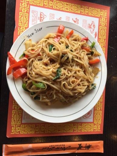 Vegetarian Basil Noodles | Photo by Lourdes Nicholls