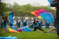 Proviso East band members perform during Battle of the Bands. | Shanel Romain/Contributor