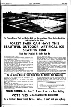 "This special election for the ice rink suggested the bond would be paid for through the revenue of the rink itself. Even Mayor Meyer is quoted stating that he believed it would be a ""self-supporting venture."""