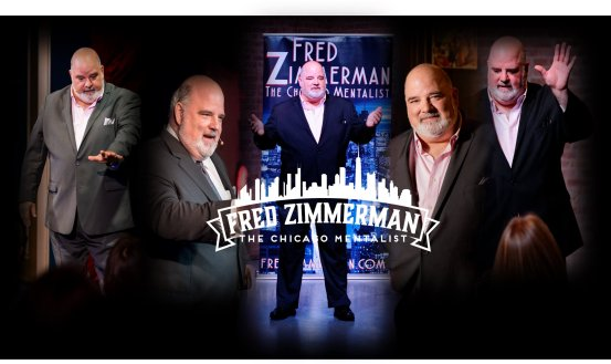 Join Forest Park's own Fred Zimmerman, The Chicago Mentalist, at Doc Ryan's.
