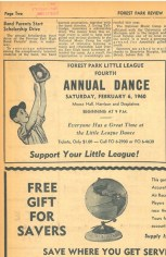 The Moose Lodge, formerly the Triangle Cafe, was a popular place for Little League fundraisers. The annual dance, right across from the Little League stadium surely was a popular event.