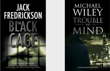 Jack Fredrickson, author of The Black Cage and Michael Wiley, author of Trouble in Mind will be discussing and signing their books on Saturday, Feb. 15.