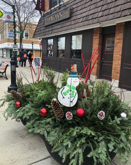 Check out the decorated planters along Madison Street. | Photo provided