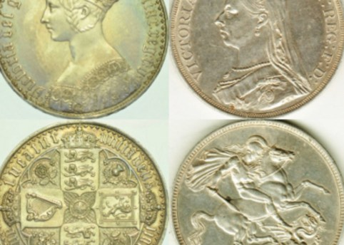 crown sterling coins
