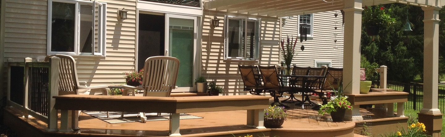 covered screened in deck contractor in pa