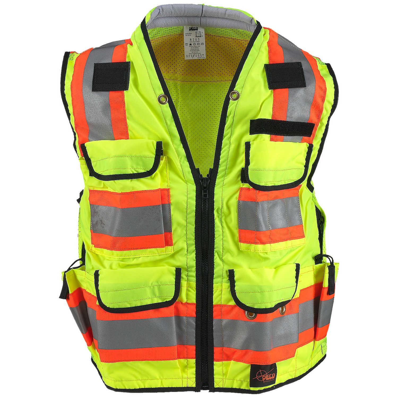 Large Seco Class 2 Safety Utility Vest Size 48 50