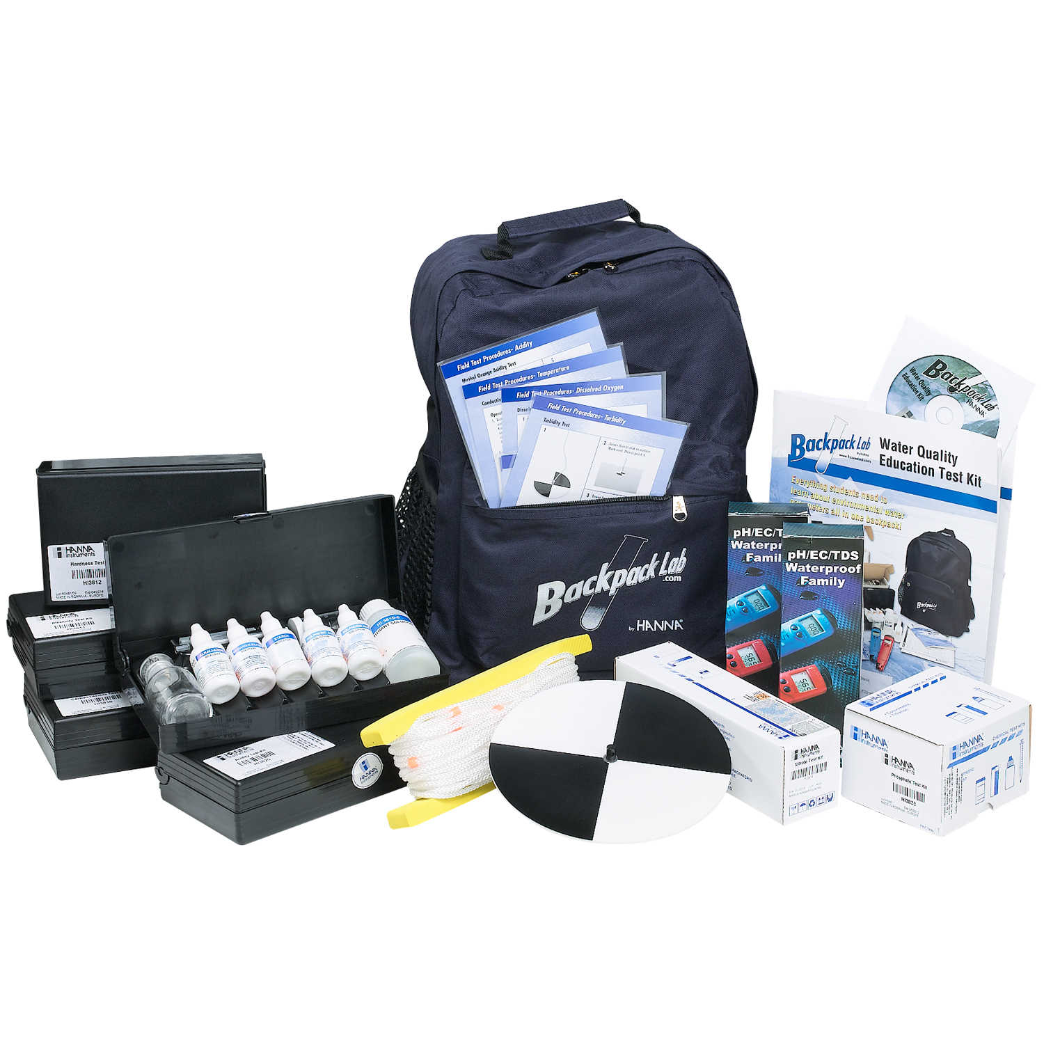 Hanna Instruments Backpack Lab Marine Science Education