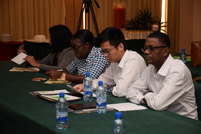 Some participants of the seminar.