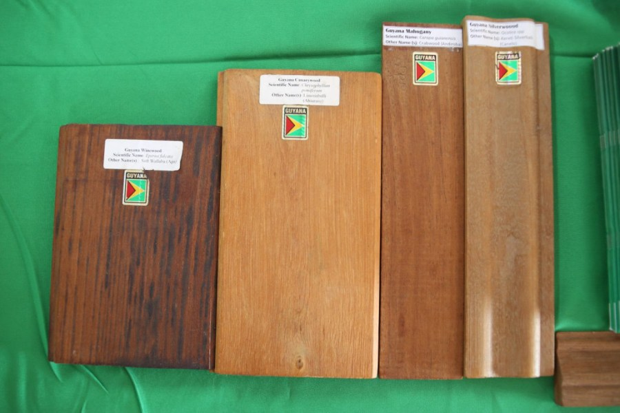 Variety of Guyanese wood